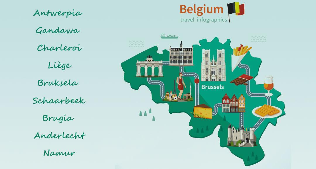 Belgia co zwiedzać, gdzie warto pojechać do belgii, co zobaczyć w belgii, jakie maiasta zwiedzać w belgii